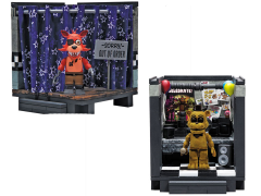 Five Nights at Freddy's Classic Pirate Cove & The Office Small Construction Sets