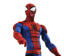 Marvel Select Spider-Man Action Figure with Crushed Car Base