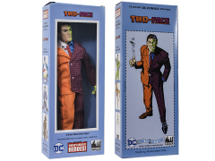 "DC World's Greatest Heroes Two-Face Mego Style Boxed 8"" Figure"