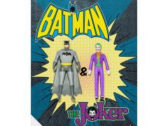DC Comics Batman & The Joker Bendable Figure Two-Pack
