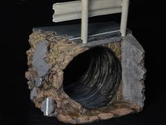Diorama Series Road Culvert 1/6 Scale Scene