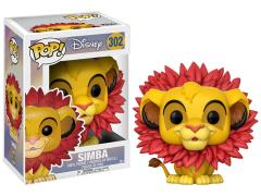 Pop! Disney: The Lion King - Simba (Leaf Mane)