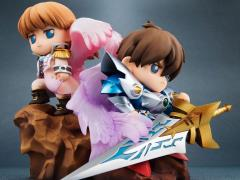 Gundam New SD Gundam Heero & Relena Figure Set