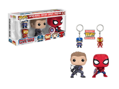 Pop! Marvel: Captain America: Civil War - 4 Pack