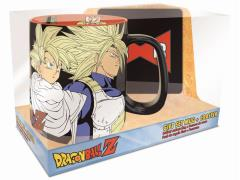 Dragon Ball Z Saiyans & Cyborgs Mug and Coaster Gift Set