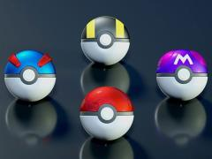 Pokemon Ball Collection Box of 10 Poke Balls