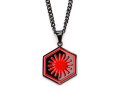 Star Wars First Order Symbol Pendant Necklace