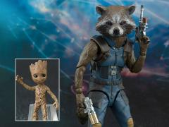 Guardians of the Galaxy Vol. 2 S.H.Figuarts Rocket & Baby Groot Exclusive