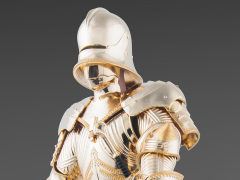 Gothic Armour 1/6 Scale Figure (Gold Version)