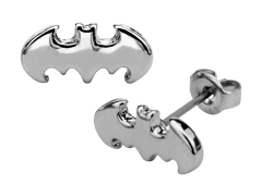 DC Comics Batman Logo Stud Earrings