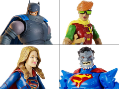 DC Comics Multiverse Wave 3 Set of 4 Figures (Collect & Connect Doomsday)