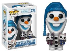 Pop! Disney: Olaf's Frozen Adventure - Olaf with Kittens