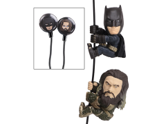 Justice League Scaler Earbuds Batman & Aquaman