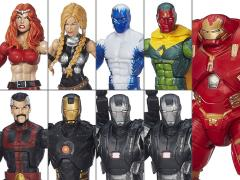 Avengers Marvel Legends Infinite Series Wave 3 Case of 8 (Hulkbuster BAF)