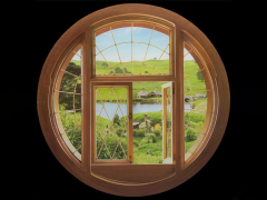 The Hobbit: An Unexpected Journey Hobbit Window Wall Decal