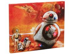 Star Wars BB-8 Illuminated Canvas Wall Art