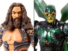 Justice League DC Comics Multiverse Wave 1 Alternate Set of 2 Figures (Collect & Connect Steppenwolf)