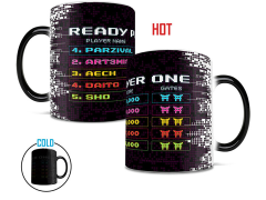 Ready Player One Scoreboard Morphing Mug