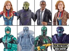 Captain Marvel Marvel Legends Wave 1 Set of 7 (Kree Sentry BAF)