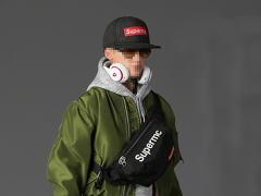 Street Style Flight Jacket (Men's) 1/6 Scale Accessory Set