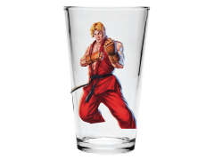 Street Fighter II Ken Pint Glass