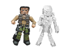 Predator Minimates Series 2 Rescue Mission Dutch & Cloaked Predator