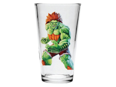 Street Fighter II Blanka Pint Glass
