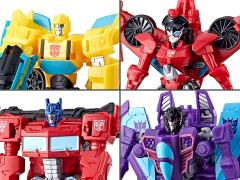 Transformers: Cyberverse Scout Wave 2 Set of 4 Figures