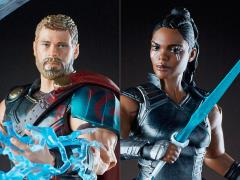 Thor: Ragnarok Marvel Legends Thor & Valkyrie Exclusive Two-Pack