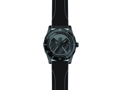 Marvel Agents of S.H.I.E.L.D. Black Wrist Watch With Rubber Strap