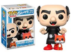 Pop! Animation: The Smurfs - Gargamel With Azrael
