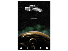 Alien A Word of Warning Limited Edition Giclee