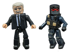 Marvel Minimates Wave 67 Captain America: Civil War Secretary Ross & Evil Thug