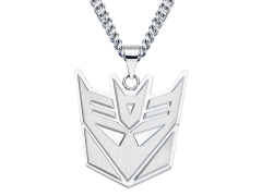 Transformers Decepticon Logo Pendant Necklace