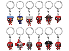 Pop! Keychain: Marvel: Deadpool Box of 12