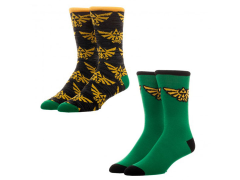 The Legend of Zelda Crew Socks 2 Pack