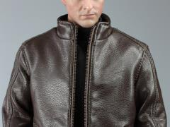 Spy Killer Leather Jacket (Brown) 1/6 Scale Accessory Set