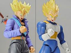 Dragon Ball Z Figure-rise Standard Super Saiyan Trunks & Super Saiyan Vegeta DX Model Kit Set