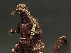 Godzilla Toho 30cm Series Godzilla Biting Trains (Bronze Image Ver.) Exclusive