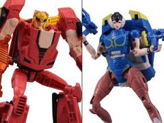 Street Fighter II X Transformers Ken Vs. Chun-Li Exclusive