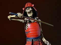 KT Project KT-010 Takeya Style Jizai Okimono - Skeleton Musha Color Version With Rokumonsen Decal