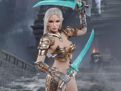 Elf Female Soldier Burryna (Silver Armor) 1/6 Scale Figure