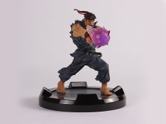 Capcom Street Fighter LED Resin Statue - Evil Ryu