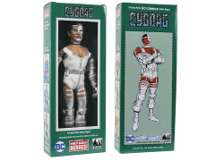 "DC World's Greatest Heroes Cyborg Mego Style Boxed 8"" Figure"