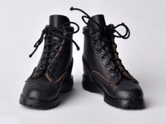 Military Combat Boots (Black) 1/6 Scale Accessory