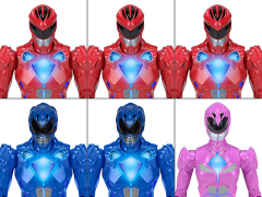 Power Rangers Feature Figure Case of 6