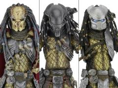 Alien vs. Predator Series 17 Set of 3 (Elder, Youngblood, & Serpent Hunter Predators)