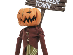 The Nightmare Before Christmas Silver Anniversary Pumpkin King Figure