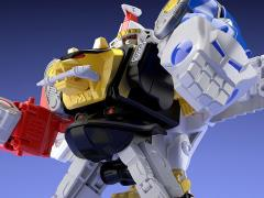 Mighty Morphin Alien Rangers Super Mini-Pla Ninja Megazord & White Ninja Falconzord Model Kit