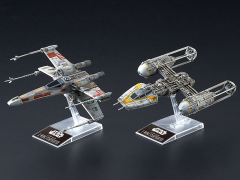 Star Wars X-Wing & Y-Wing Starfighter 1/44 Scale Model Kit